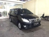 2012 Innova 2.0 V Luxury AT  Hitam dijual