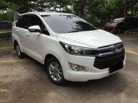 2016 Toyota Innova Reborn 2,4 V Diesel  dijual