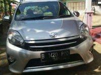 2015 Toyota Agya type G dijual