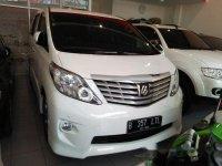 Toyota Alphard SG 2011 Dijual