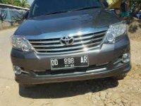 2015 Toyota Fortuner G Dijual