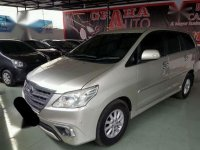 2014 Innova V Diesel Matic dijual