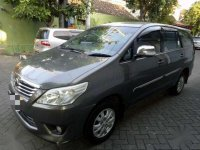 2012 Grand Innova 2.0 G Bensin  Manual Istimewa dijual