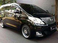 2012 Toyota Alphard 2.4 X Dijual