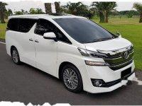 Toyota Vellfire X 2015 Wagon dijual