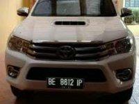 2017 Toyota Hilux V dijual
