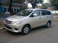 Toyota Kijang Innova J 2012 Dijual