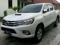 2015 Toyota Hilux G dijual
