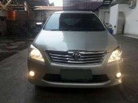 2013 Toyota.innova G matic dijual