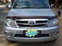 Fortuner Type V 4x4 th 2006 Plat AB Istimewa