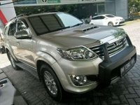 2011 Toyota Fortuner V Lux 4x4 2.7 AT dijual