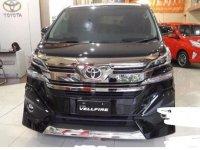 Toyota Vellfire G Limited 2017 Wagon dijual