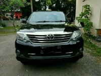 2012 Toyota Fortuner 2.7 V AT 4x4 dijual