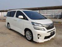 Toyota Vellfire ZG 2013 Wagon dijual