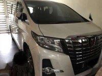 2016 Toyota Alphard SC Dijual