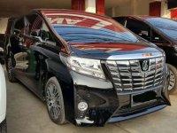 Toyota Alphard G ATPM Automatic 2017 Hitam Metalik