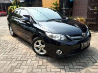 2012  Toyota Corolla Altis Type V Automatic Black Dijual
