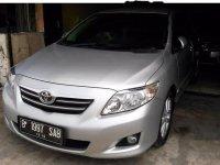 Toyota Corolla Altis G 2009 Sedan dijual
