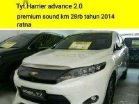 2014 Toyota Harrier 2.0 NA Dijual