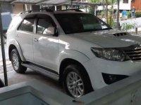 2013 Toyota Fortuner VNT Tipe G Diesel dijual