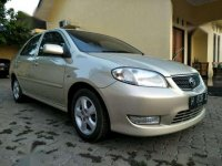 2003 Toyota Vios E dijual