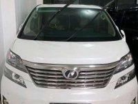 2011 Toyota Vellfire V Dijual