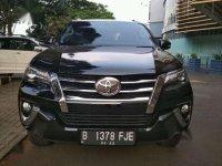 2017 Toyota Fortuner VRZ At dijual