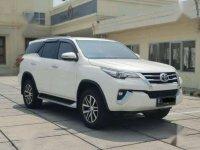 2017 Toyota Fortuner VRZ Diesel AT dijual