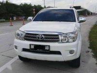2010 Toyota Fortuner G Lux matic dijual