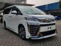 2018 Toyota Vellfire 2.5 ZG Modelista dijual