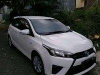 2016 Toyota Yaris type E dijual