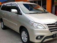 2014 Toyota Innova dijual