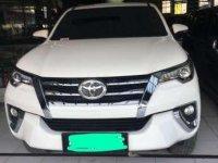 2016 Toyota Fortuner type VRZ dijual