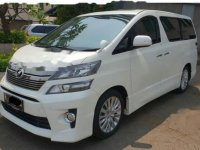 Toyota Vellfire ZG 2014 Wagon dijual