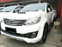 Toyota Fortuner G TRD 2012 SUV dijual