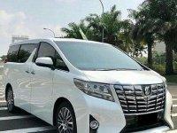 Toyota Alphard G ATPM 2017 Dijual