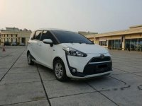 Toyota Sienta G 2017 Dijual