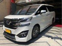 Toyota Vellfire G 2015 Wagon dijual