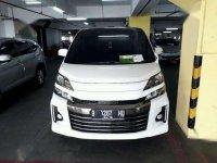 2014 Toyota Vellfire  G Limited Dijual