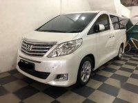 2012 Toyota Alphard Dijual