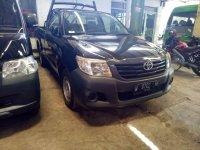 Toyota Hilux G 2012 Hitam dijual