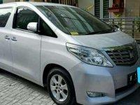 2011 Toyota Alphard G Dijual