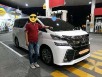 2017 Toyota Vellfire ZG dijual
