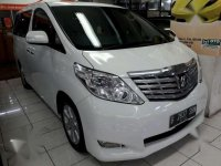 Toyota Alphard 2.4 G Premium  2011 Dijual