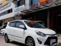 2017 Toyota Agya 1.2 G dijual