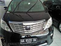 Toyota Alphard G 2009 Dijual