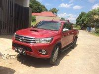 Toyota Hilux G 2015 Merah dijual