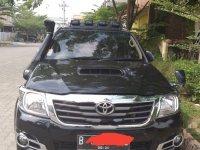 Toyota Hilux G 2015 Hitam dijual