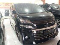 Toyota Vellfire 2013 dijual