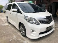 2011 Toyota Alphard S Audioless AT dijual
